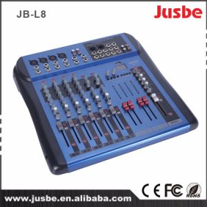 Jb-L8 8 Channel Audio Mixer with USB Sound System Mixer Price pictures & photos