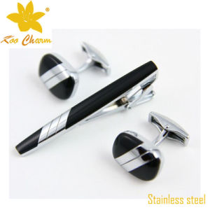 Tieclip-003 Custom Logo Stainless Steel China Ornament Tie Bars pictures & photos