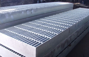 Serrated Steel Floor Grating pictures & photos