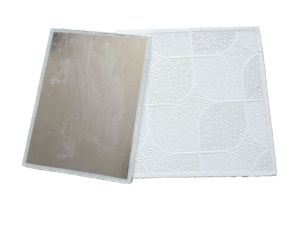 PVC Gypsum Ceiling Tile with PVC and Aluminum pictures & photos