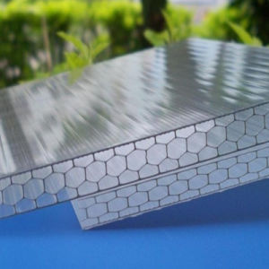 China Polycarbonate Honevcomb Hollow Sheet for Beijing Bird′s Nest pictures & photos