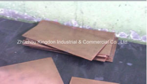 Tungsten Heavy Alloy Non-Ferrous Metal-Pure Tungsten Copper Sheet pictures & photos