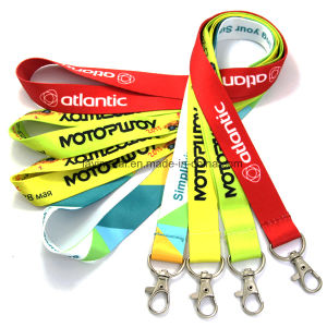 Custom Printed Neck Polyester Nylon Lanyard pictures & photos