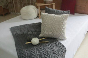 OEM ODM Decorative Knit Sofa Car Seat Cushion Home Pillow pictures & photos