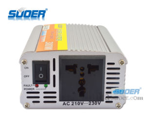 Suoer Solar Power Inverter 300W Steady Voltage Solar Power Inverter 12V Inverter (SDA-300A-230V) pictures & photos