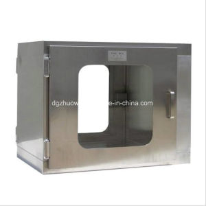 Stainless Steel Door Hinge/Handle Pass Box with Interlock Door pictures & photos