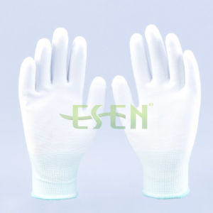 13G Smooth Nitrile Palm Coated Glove, Smooth Surface Nitrile Working Gloves pictures & photos