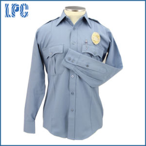 Custom High Quality Long Sleeve Police Uniform pictures & photos