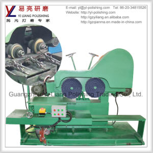 Double Buffing Wheels Polish Machine for Cutlery and Dinnerware Edge Grinding pictures & photos