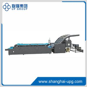 Lqb-G Series Semi-Automatic Flute Laminating Machine pictures & photos