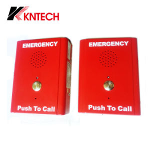 Emergency Calling Knzd-13 Koontech Auto-Dial Phone Trackside Telephone pictures & photos