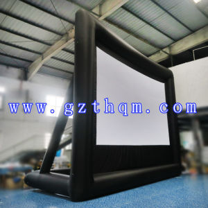 Inflatable Projection Movie Screen/Inflatable Screen PVC with High Quality pictures & photos