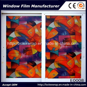 Glass Film Self Adhesive Frosted Decorative Window Film pictures & photos
