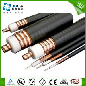 PE/TPE Insulated 50ohms 7/8 RF Feeder Cable Coaxial Communication Wire pictures & photos