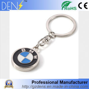 Metal Hard Enamel Round BMW Keychain with Ring pictures & photos