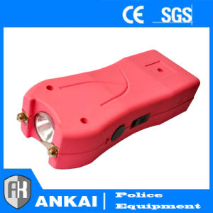 Rechargeable Stun Guns with Electric Shock Pink pictures & photos