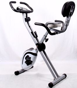 Body Fit Magnetic Resistance Gym Folding Upright Exercise Magnetic Bike pictures & photos
