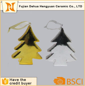 Colored Ceramici Christams Tree Hanging Ornaments pictures & photos