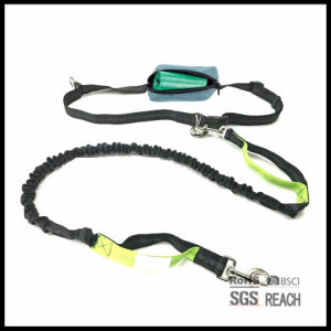 Waist Hands Free Pet Dog Running Leash with Training Handle pictures & photos