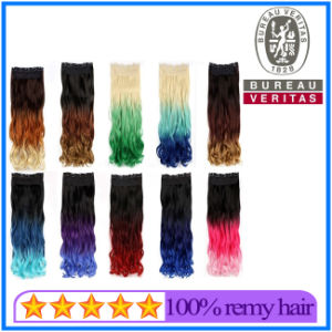 Factory Is Wholesale Human Mix Color Hair Extension pictures & photos