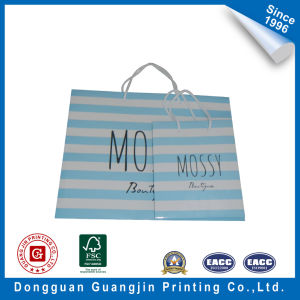 The Rubber Surface Flow Bag Shopping Bag Paper Bag pictures & photos