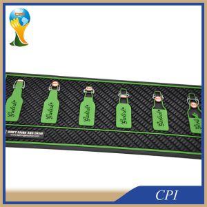 Promotional Custom Logo Soft PVC Bar Mat pictures & photos