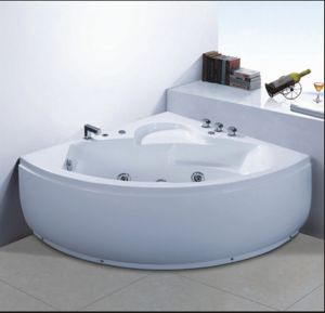 1300mm Corner Massage Bathtub SPA for 2 People (AT-0752) pictures & photos