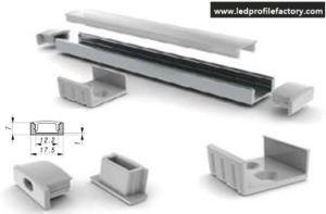 4110 7mm LED Aluminum Channel Profile Line pictures & photos