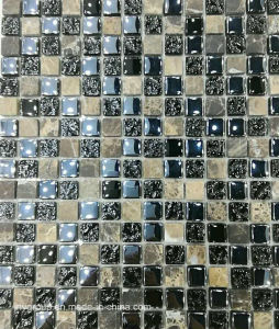 Glass Mosaic Mix Stone Jy15k pictures & photos