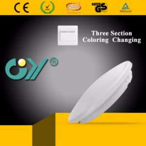 Great Price Three Section Coloring Changing LED Ceiling Lighting pictures & photos