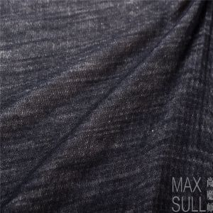 Wool /Cotton /Acrylic Mixed Wool Fabric for Autumn Season in Black pictures & photos