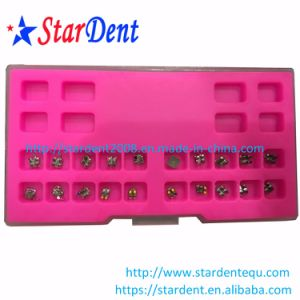 Hot Sale Dental Orthodontic Metal Roth Brackets pictures & photos