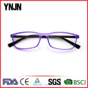 Ynjn Purpleplastic Square Optimum Optical Reading Glasses (YJ-RG209) pictures & photos