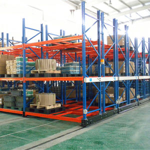 Warehouse Storage Movable Pallet Rack for Cold Store pictures & photos