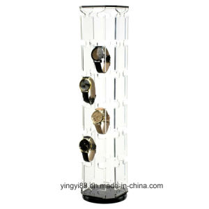 Best Selling Acrylic Rotating Watch Display pictures & photos