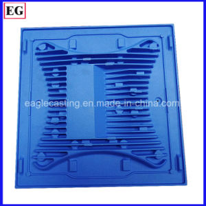 LED Heat Sink Cover Aluminum Die Casting Parts by Eagle pictures & photos