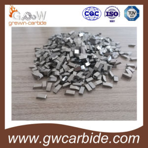 Tungsten Carbide Wood Cutting Saw Tips K10 Nickel Cover pictures & photos