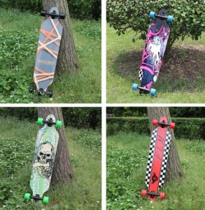 High Quality Wood Longboard Street Skateboard pictures & photos