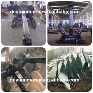 Marine Stockless Welding Anchor Hall Type Anchor AC-14 H. H. P. Anchor pictures & photos