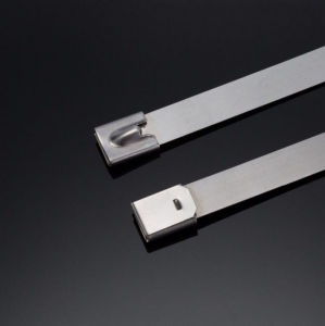 Heat Resistant Stainless Steel Cable Ties with Metal Ball Locking pictures & photos