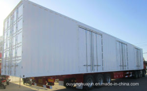 50 Feet Van Type Container Semitrailer pictures & photos