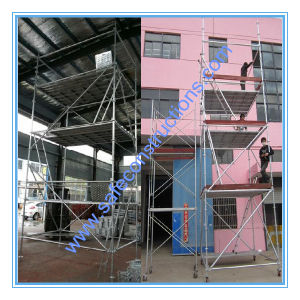 Ce Passed Construction Ringlock Scaffolding for Building. pictures & photos