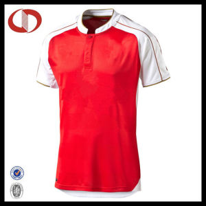100% Polyester Short Sleeve Football Sportswear Jersey pictures & photos