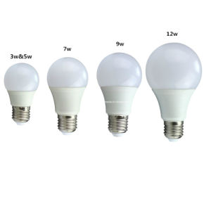 LED Bulb, 9W (3W, 5W, 7W, 9W, 12W) pictures & photos