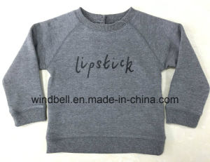 Basic Fleece Pullover for Kids with Letter Printing pictures & photos