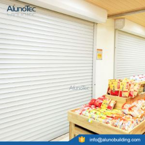 Aluminum Profile Thermal Prevent Rolling Shutter Window pictures & photos