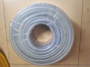 PVC Braid Hose with Narrow Line on The Surface pictures & photos