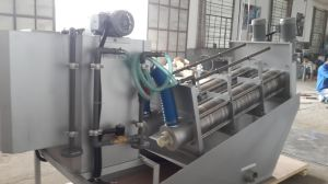 Screw Press Sludge Dewatering System for Sewage Slurry Dewatering pictures & photos