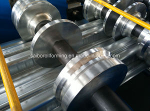 Round Metal Decking Roll Forming Machine in 2 Ribs pictures & photos