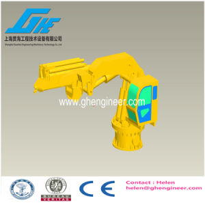 Hydraulic Telescopic and Knuckle Boom 360 Degree Rotate Marine Crane pictures & photos